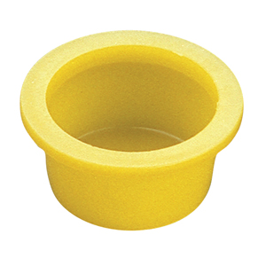 Caplugs Daemar Tapered Caps and Plugs - wide, thick flange prevents force through